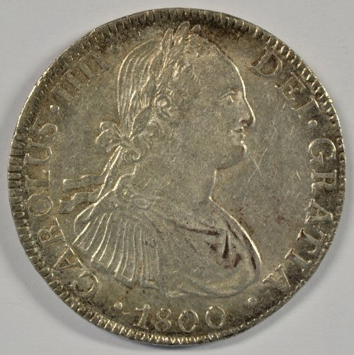Lot Detail - CHOICE & LUSTROUS 1800 MEXICO 8 REALES SILVER