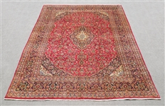 Hand Woven Semi Antique Persian Kashan
