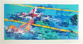 NEIMAN **OLYMPIC SWIMMERS** SIGNED SERIGRAPH