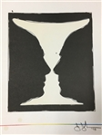 JASPER JOHNS *CUP 2 PICASSO* LITHOGRAPH