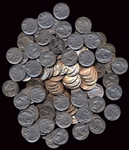 GREAT LARGER LOT OF 225 ASSORTED FULL DATE INDIAN HEAD BUFFALO NICKELS