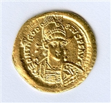 INCREDIBLE BOLDLY STRUCK UNCIRCULATED ANASTASIUS GOLD COIN  AD492-518
