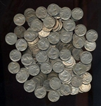BAG OF 150 MIXED FULL DATE INDIAN HEAD BUFFALO NICKELS