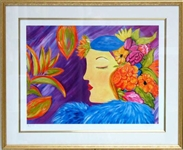 PALYN ***  LOLA *** SIGNED FRAMED GICLEE