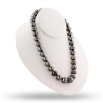 14K TAHITIAN PEARL NECKLACE 11MM TO 14MM