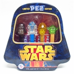 RARE SET OF 4 LIMITED EDITION STAR WARS PEZ DISPENSERS