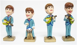 VINTAGE SET OF BEATLES BOBBLEHEAD FIGURINES