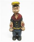 CAST IRON POPEYE BANK