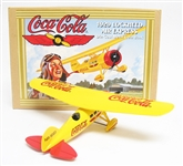 COCA-COLA 1929 LOCKHEED AIR EXPRESS METAL COIN BANK