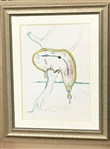 DALI *** TEARFUL SOFT WATCH *** SIGNED LITHOGRAPH