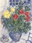 CHAGALL ** VASE OF FLOWERS *** LITHOGRAPH