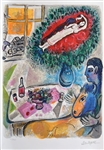 CHAGALL ** REVERIE ** LITHOGRAPH
