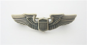 STERLING SILVER W.W. II PILOTS WINGS