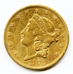 SPECIAL SELECT 1873 S TYPE 2 $20 LIBERTY GOLD COIN